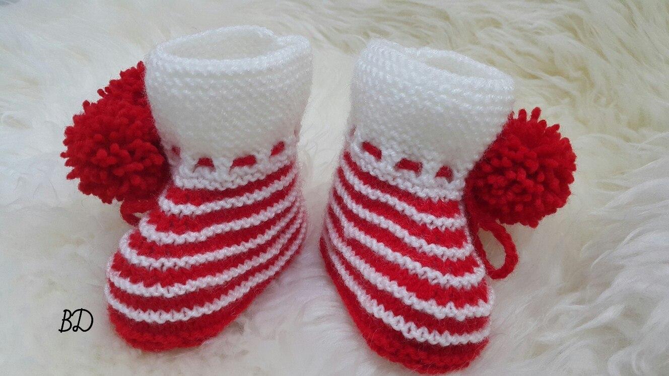 схемы вязание детских носочков спицами для девочки1-2 года