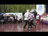 Показательные выступление казаков на фестивале традиционной казачей культуры
