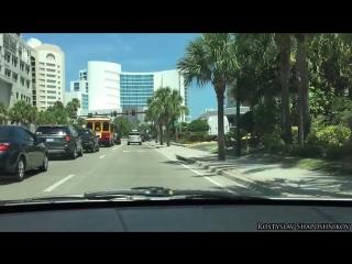 Clearwater - белоснежный пляж. Флорида, США