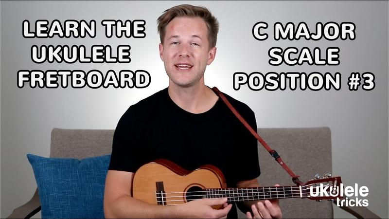 Ukulele Scales How to Play C Major Scale Position 3 on Ukulele