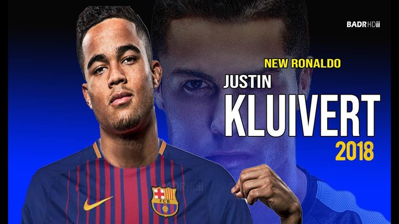 Justin Kluivert ● Welcome to Barcelona 2018 ● Crazy Skills ● HD