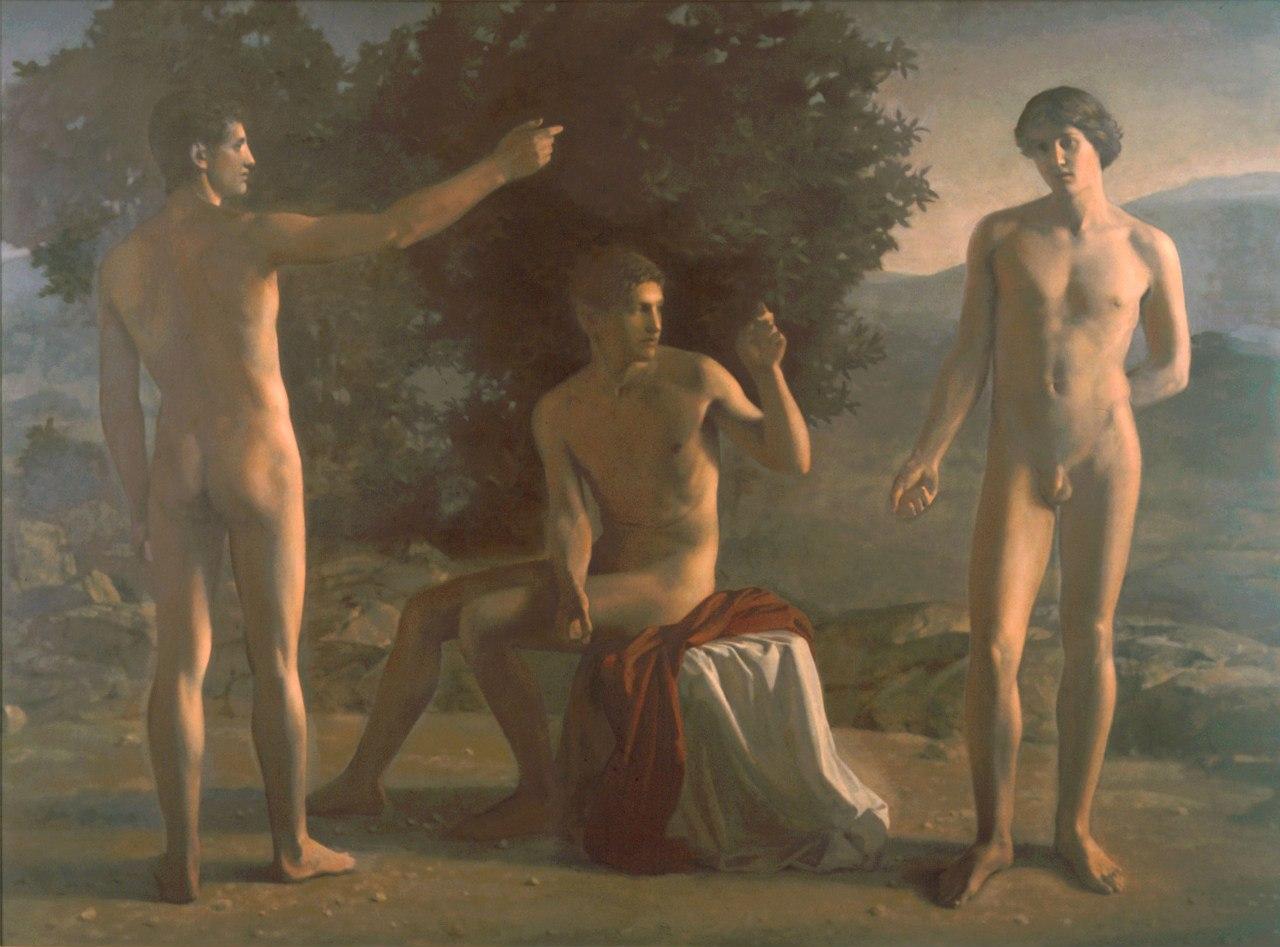 Рисуют голых мужиков 8 фотография