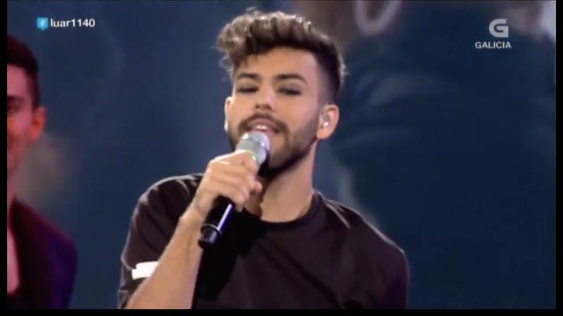 Agoney canta Quizás en Luar (Television de Galicia) 21-9-18