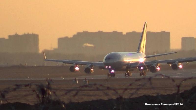 ИЛ-96-300 RA-96008 Последний рейс SU-2131 из Стамбула.29.03.2014