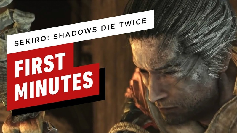 The First 16 Minutes of Sekiro Shadows Die Twice Gameplay (1080p 60fps)