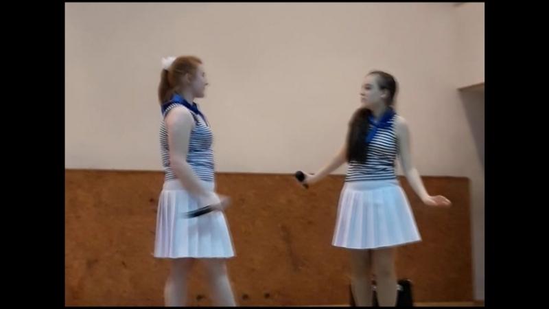 На сцене КМРК. 14.06.2018. Тамара Ермакова и Надя Тараненко