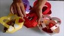 DIY: Lembracinha Dia dos Namorados: Cestinha de Coração.