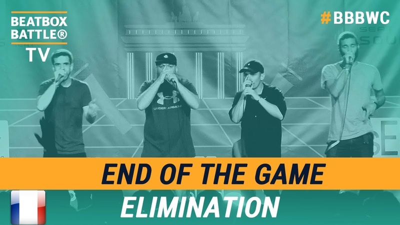 End of the Game from France Crew Elimination 5th Beatbox Battle World Championship