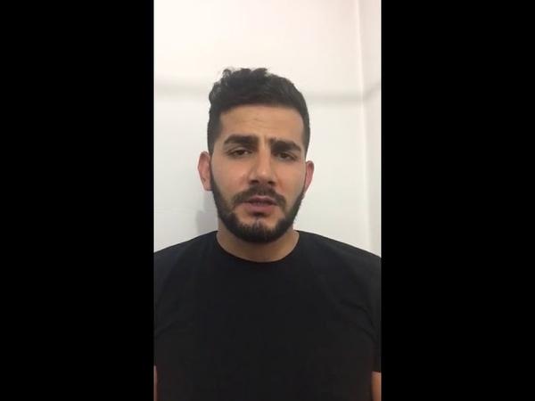 Видеообращение задержанного за нападение на водителя скорой в Алматы