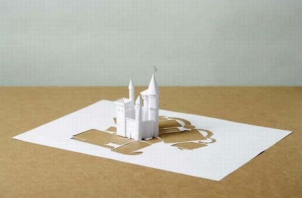 Бумажные скульптуры Peter Callesen QALgv7DLE4Q