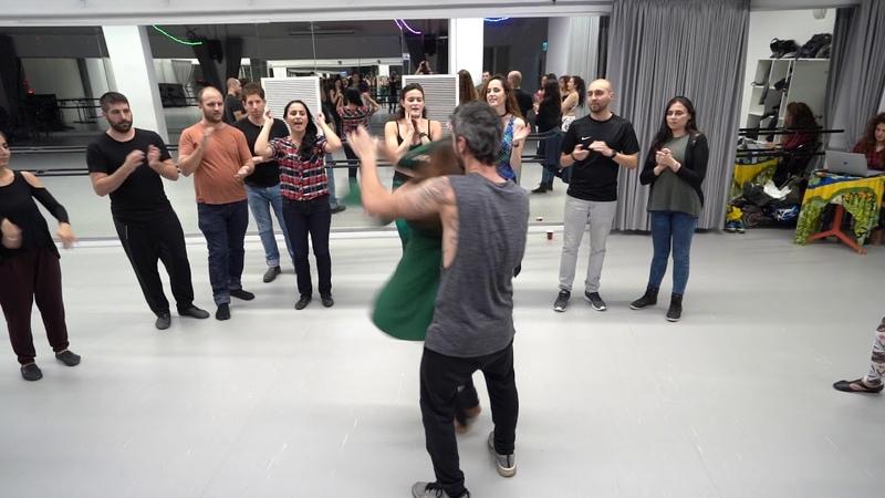 Roda To Sonya Burlan | Zouk Lambada Israel 24.12.2018 | Bikurei Haitim, Tel-Aviv