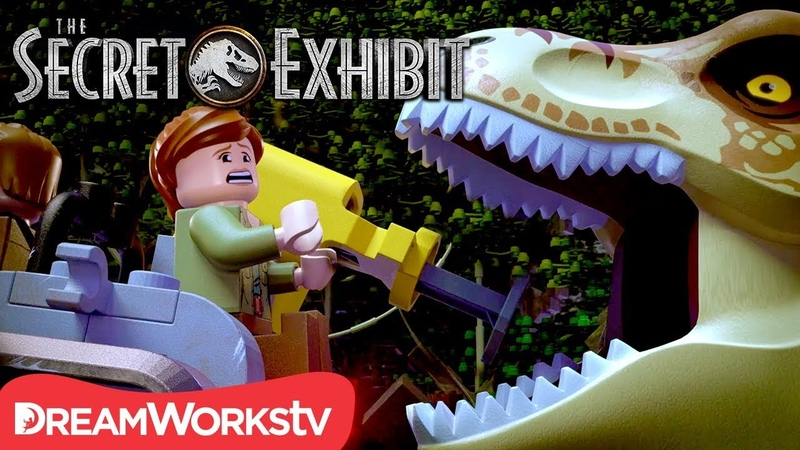 Dinosaur Delivery Gone Wrong | LEGO JURASSIC WORLD: THE SECRET EXHIBIT