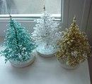 Новогодние подарки елочки из бисера ручная работа в Виннице - изображение 1.