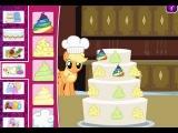 свадебный торт для маленьких пони