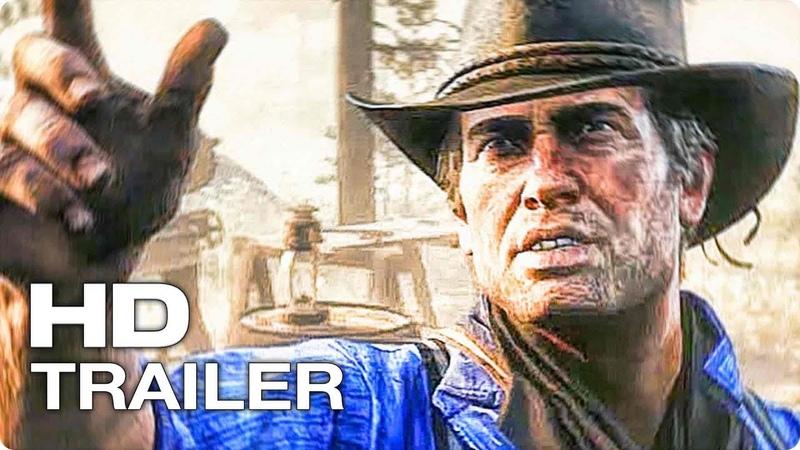 RED DEAD REDEMPTION 2 ✩ Трейлер К Выходу Игры 2018 PlayStation 4 Xbox One