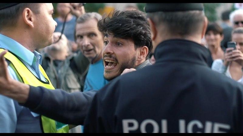 Protest proti Babišovi a komunistům, Praha