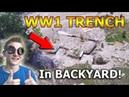 I Built a WW1 Trench in my Backyard!