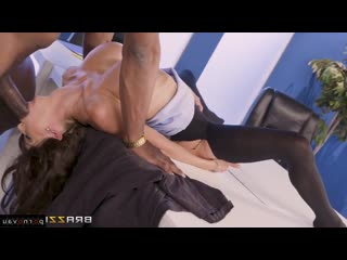 Alexis fawx & prince yashua [ negros &  in the office &  with talk / pussy , old with young , riding dick , cumshot in mouth , c