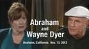 Abrahan and Wayne Dyer - John of GOD, Anaheim California, 11/13/2013