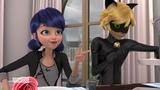 Miraculous Ladybug - Weredad Papa Garou - Cat Noir and Marinette's Date - French