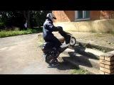 Андрей Скутерец. (продолжение) Обзор скутера Honda dio af-27 и тестирование