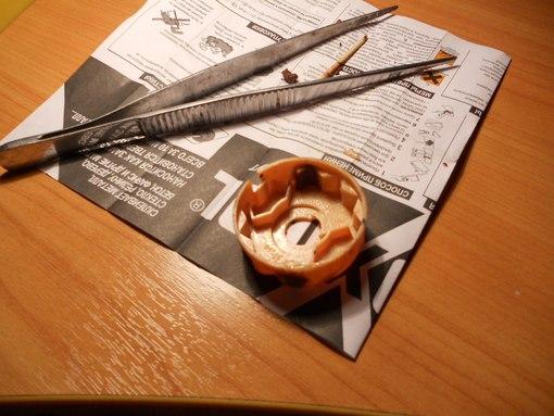 отремонтировать маникюрные ножницы