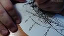 СТРЕЛА в стиле БОХО с перьями Speed Draw STARina OLEGator