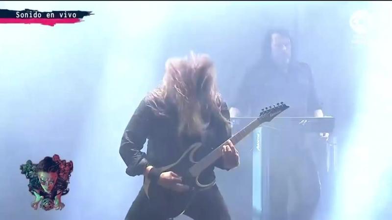 Dark Tranquillity - Live at Festival Rock Al Parque (Bogota, Colombia 18.08.2018)