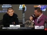 КОНОР ЖЕСТКО УНИЗИЛ ХАБИБА НА ПРЕСС КОНФЕРЕНЦИИ UFC 229