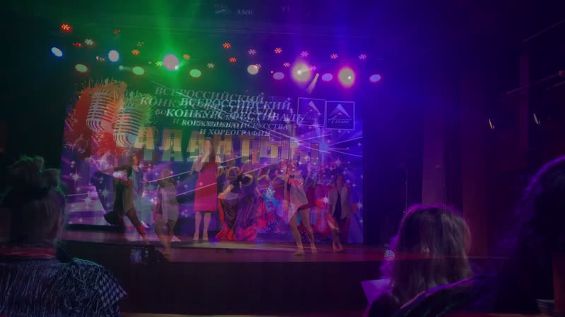 Выступление на Гала-концерте конкурса «Таланты России»