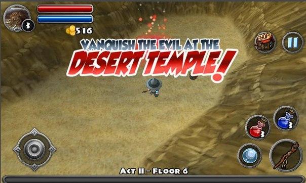 Скачать Dungeon Quest для android