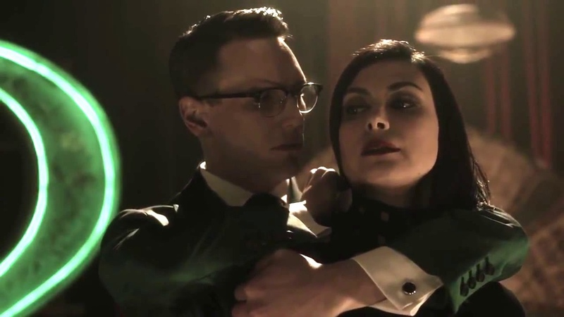 Lee and the riddler kiss scene in gotham 4x17
