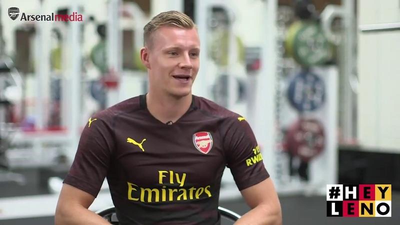 Bernd Lenos first Arsenal interview