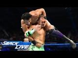 Mojo Rawley vs. Jinder Mahal SmackDown LIVE, June 6, 2017