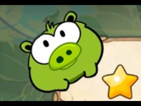 Ам Ням Голодный Поросенок Мультик для детей Игра 🐷 OM NOM Hungry Piggy Cartoon for kids Game HD 1