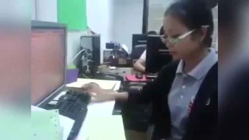 печать на клаве