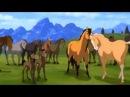 Потрясный мульт-клип с красивой лошадью.