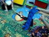 Гриша, 1г4мес. формирование умения управлять своим телом. Упражнение с утяжелителями. Нейродефектолог Сорокина Наталья