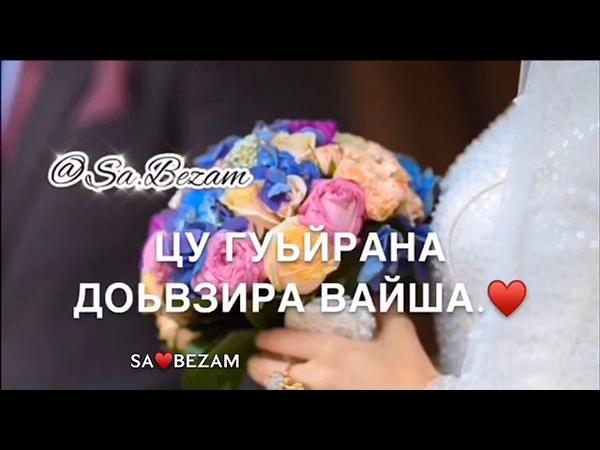Мадина Дамбаева - new 2019 ♥️ sa.bezam (текст) ♥️
