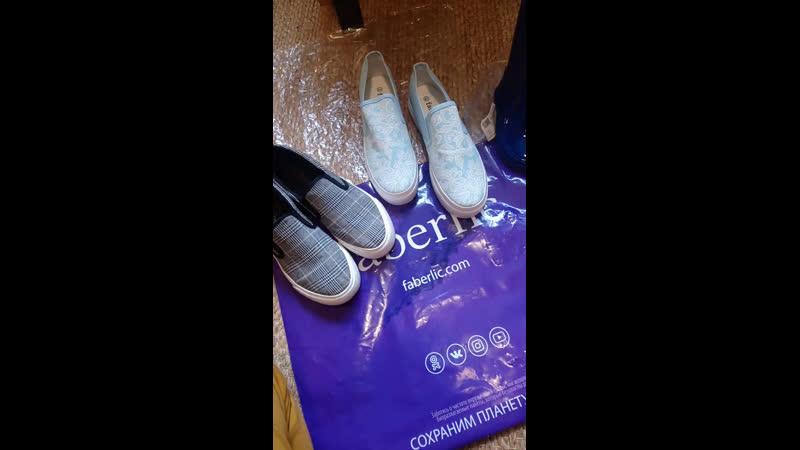 Обзор обуви от Faberlic
