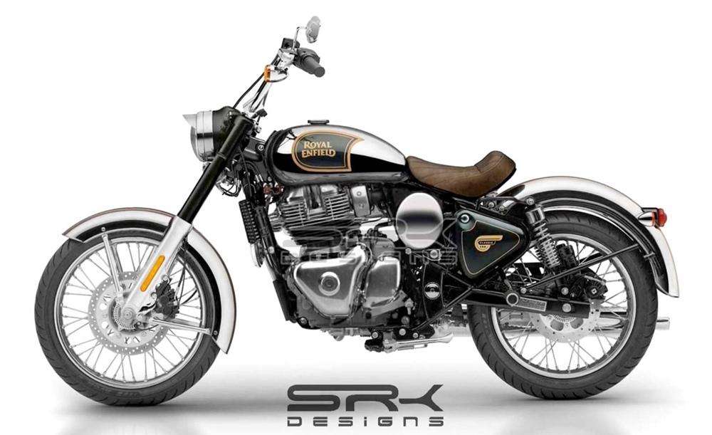 SRK Design: Концепт, вдохновленный Royal Enfield KX