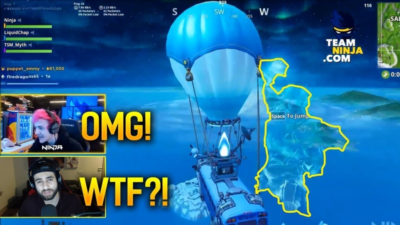 Streamers React To New ICE STORM Event SPHERE in Fortnite Season7