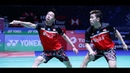 Marcus Fernaldi GIDEON Kevin Sanjaya SUKAMULJO vs Takuto INOUE Yuki KANEKO Indonesia Open 2019