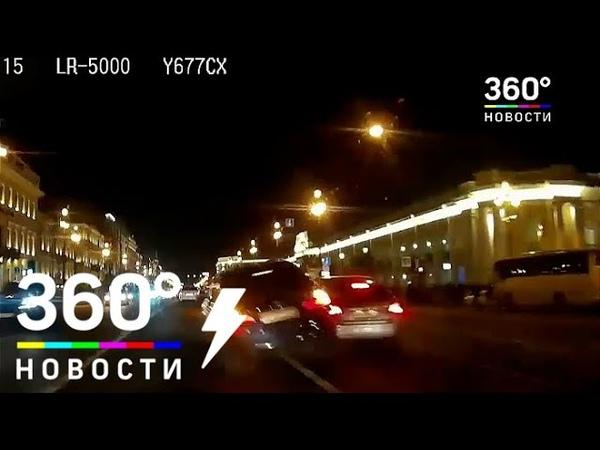 ДТП в Петербурге: снес остановку, но не виноват