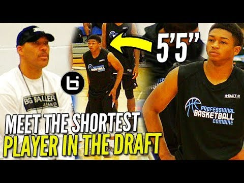 Lavar Ball WATCHES the SHORTEST PLAYER in the DRAFT! 55 Junior Robinson PBC Highlights!
