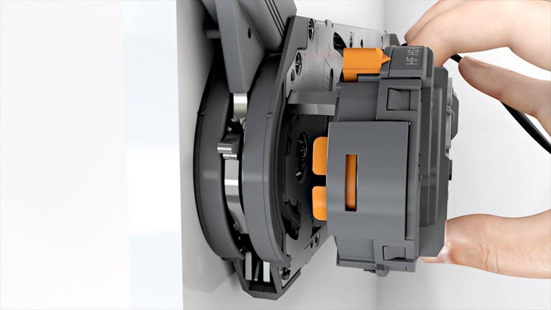 This video demonstrates assembly and start-up SERVO-DRIVE for BLUM AVENTOS from DARO