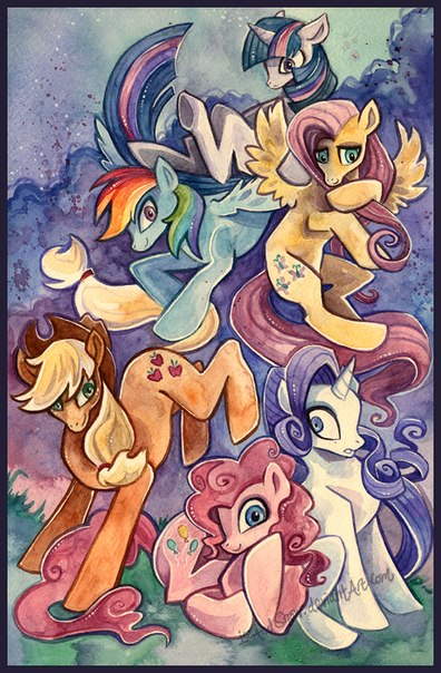 Картинки Литл Пони: Дружба это чудо для поклонниц винкс!