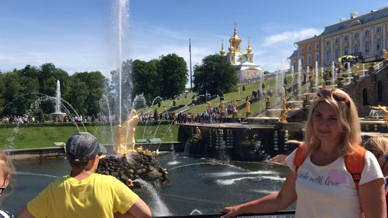 Петергоф резиденция Пётра Великого