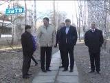 Мэр Заречного проверил результаты уборки городских улиц