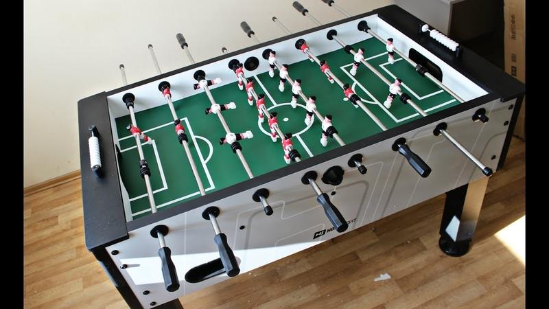 Настольный футбол Hop Sport Evolution Gray. Инструкция по сборке | Table Soccer | Football